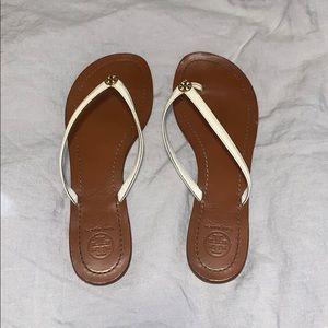 Tory Burch sandals/ white